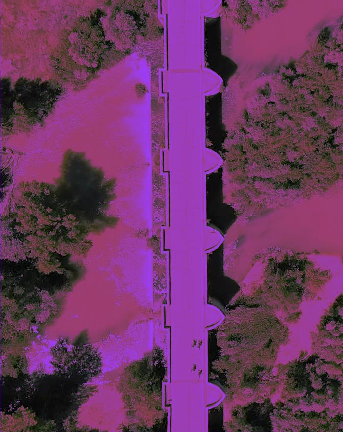 Vista aérea puente