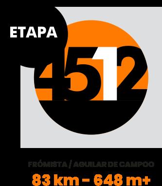 Etapa 1. Frómista / Aguilar de Campoo
