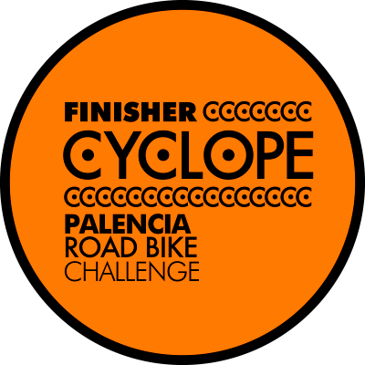 Medalla Finisher Cyclope